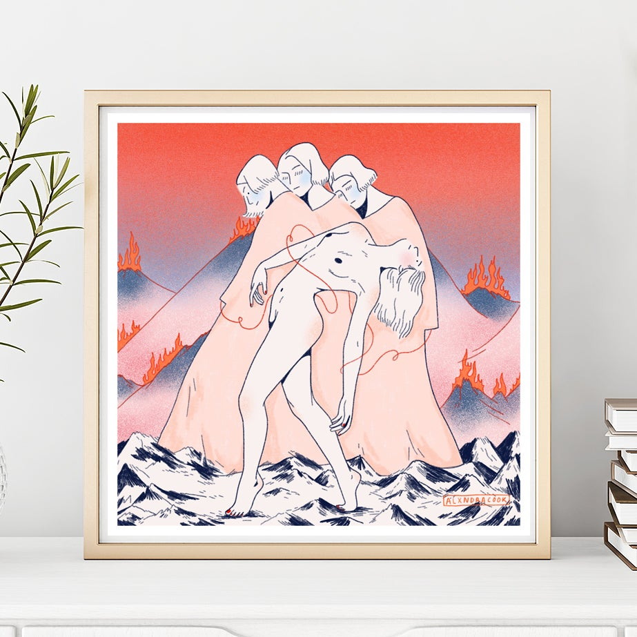 Image of The 3 Fates Giclee Print