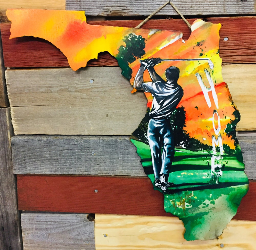 Image of Golfing For Home Florida