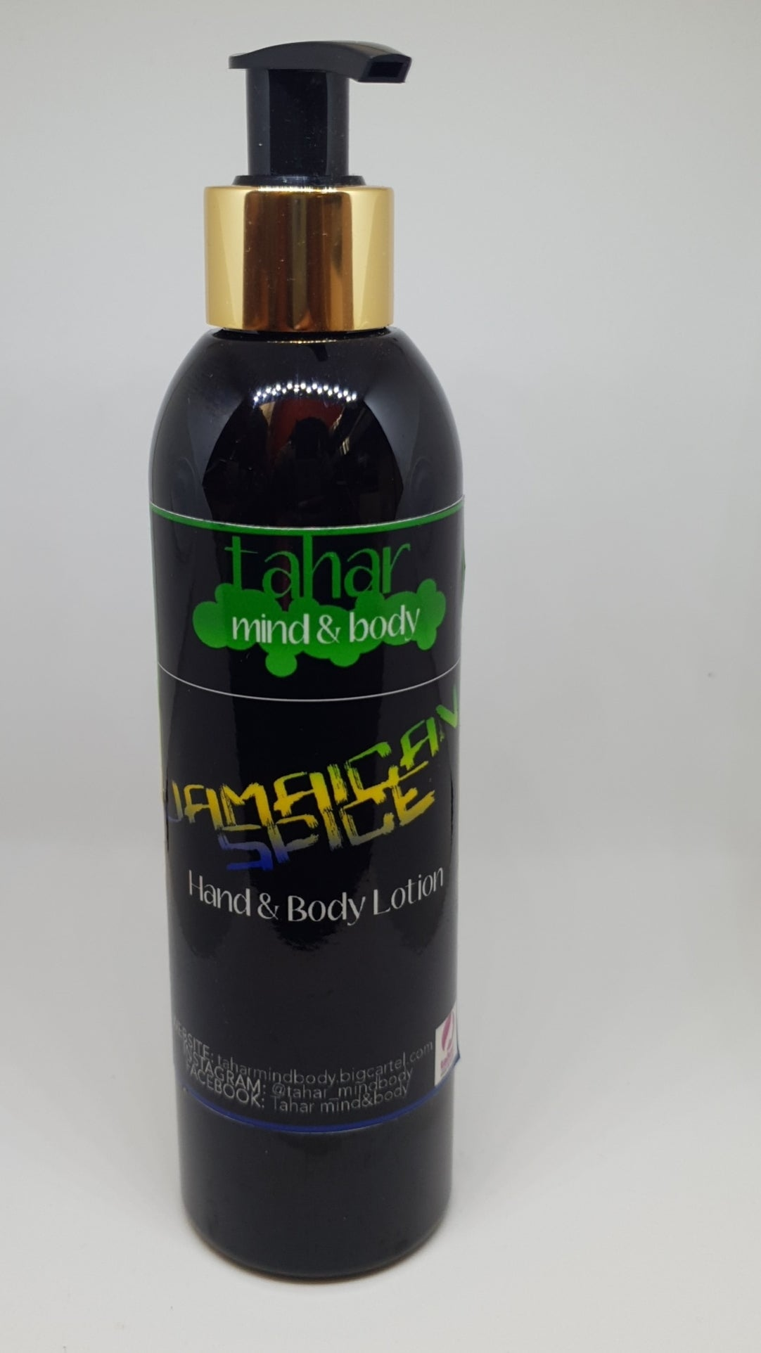 Image of 'Jamaican Spice' hand & body lotion