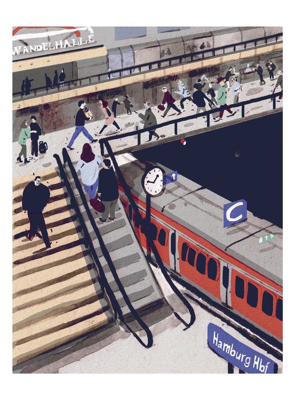 Image of Hamburg Hauptbahnhof