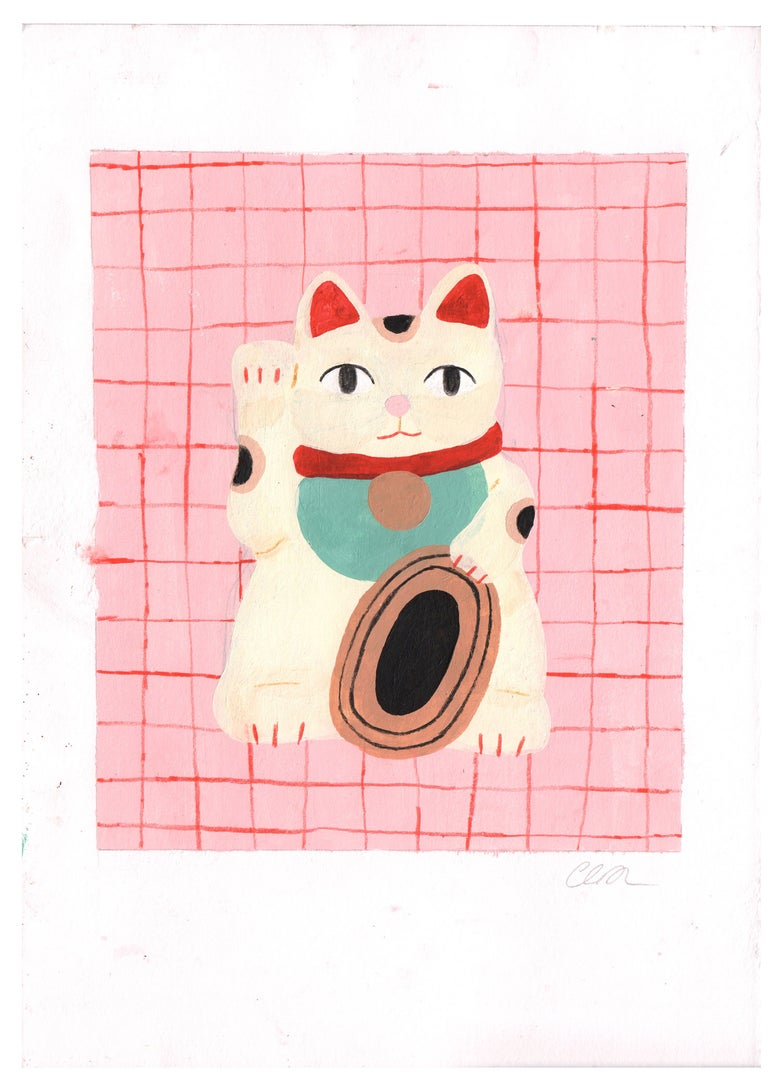Image of Maneki-neko (Original)
