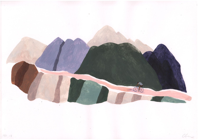 Image of Mountains (Original)