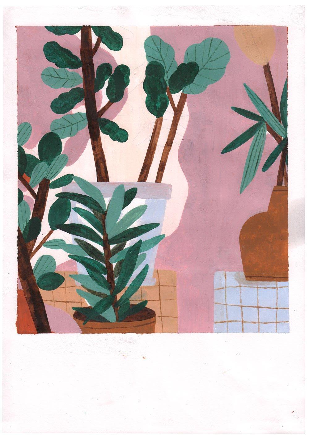 Image of Plants (Original)