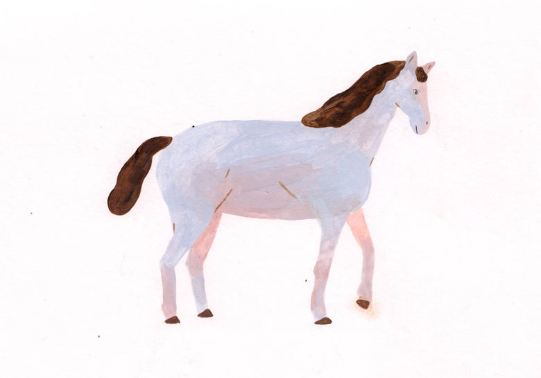 Image of Horse (Original)