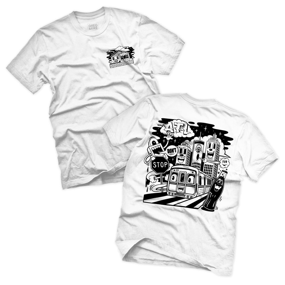 """Image of """"ON THE RISE"""" TEE (BLACK EDITION)"""