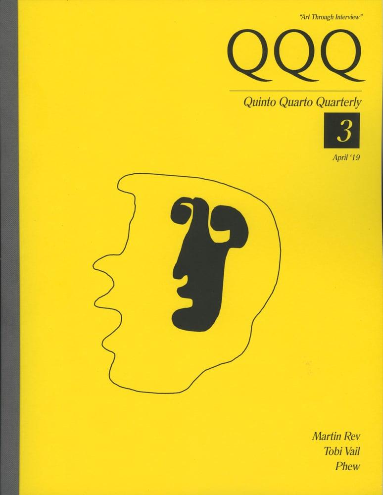 Image of QQQ No. 3 + Jumbo Poster [+T-Shirt option extra]