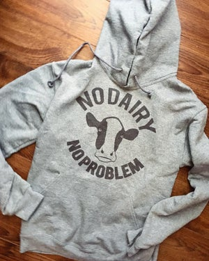 Image of No Dairy No Problem unisex hoodie