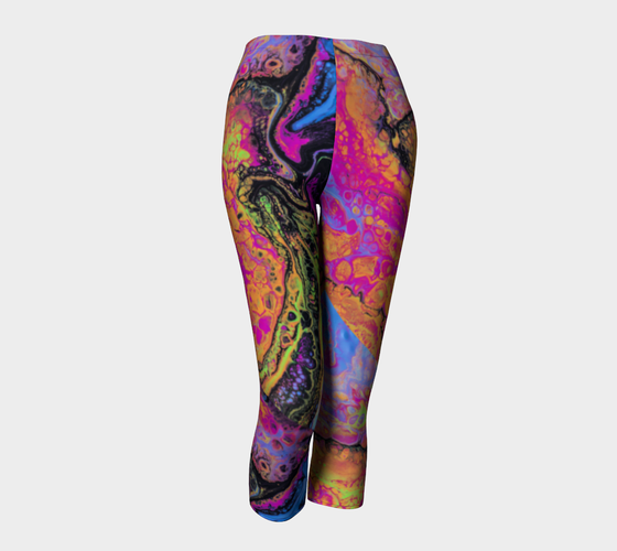 Image of Spring Glow Capri Leggings