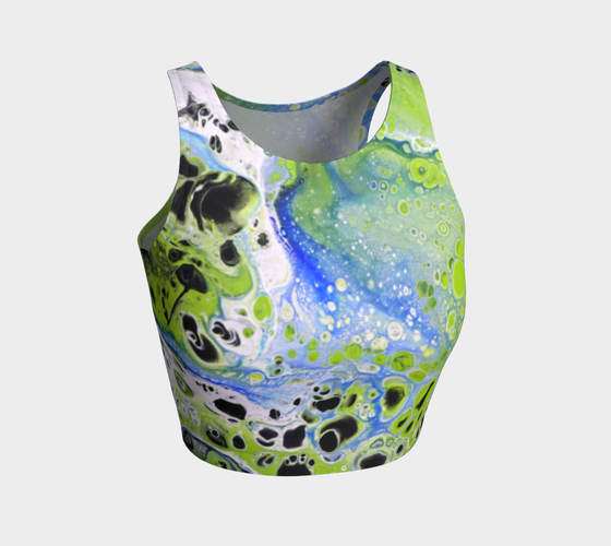 Image of Mossy Pond Crop Top