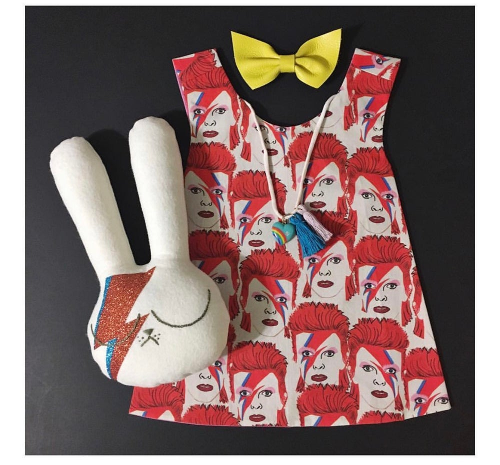 Image of Bowie Reversible Pinafore