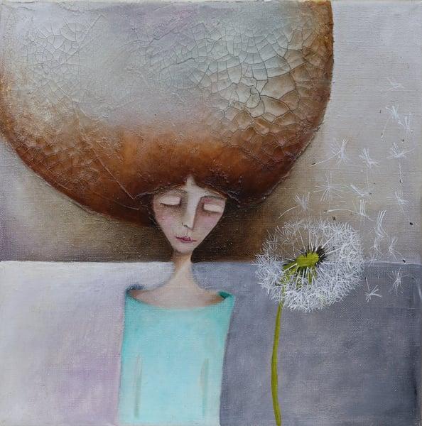 "Image of ""Make A Wish"" An original Artwork SOLD"