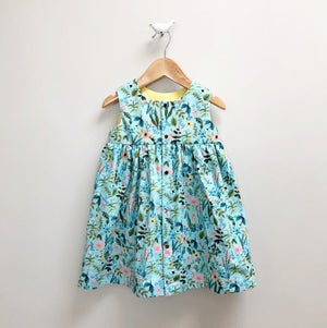 Image of Garden Snap Front Mini Dress