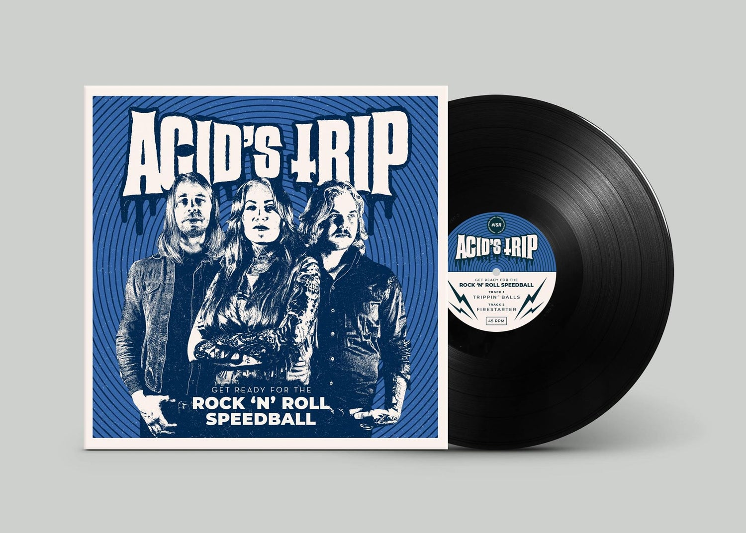 "Image of Acid's Trip ""Get Ready For The Rock'N'Roll Speedball"""