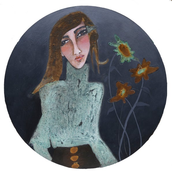 "Image of ""Annie #3 "" An original painting"