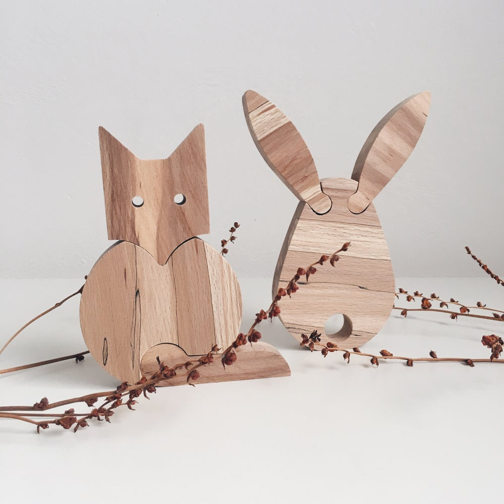 Image of Fox + Rabbit
