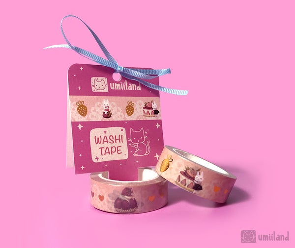 Image of Stella loves Pastries Washi Tape