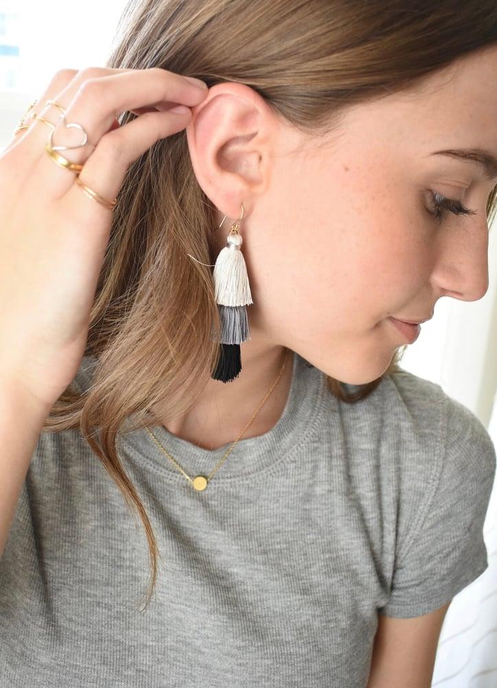 Image of Tassel Earrings