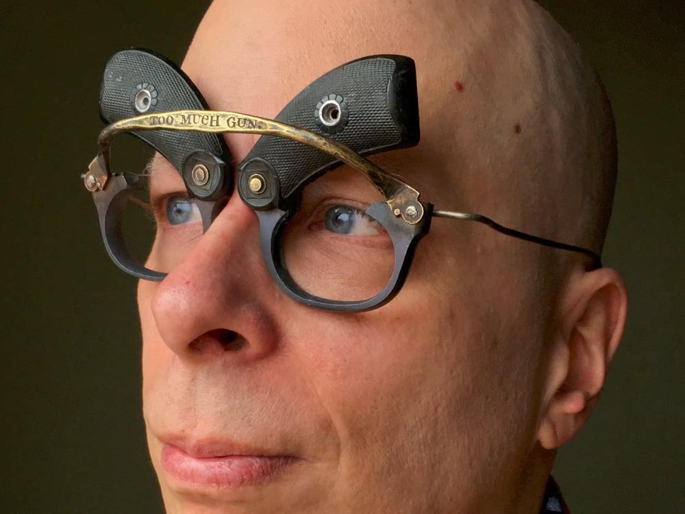 Image of Eyewear: TOO MUCH GUN.