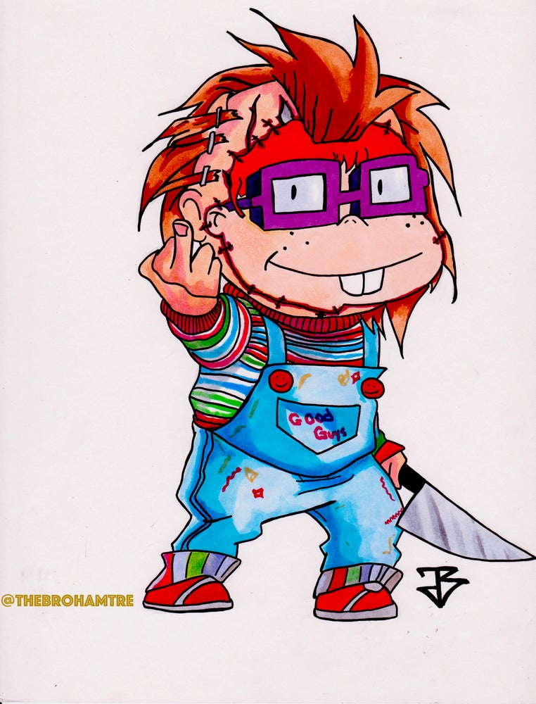 Image of Chucky(ie)  SwitchStitch