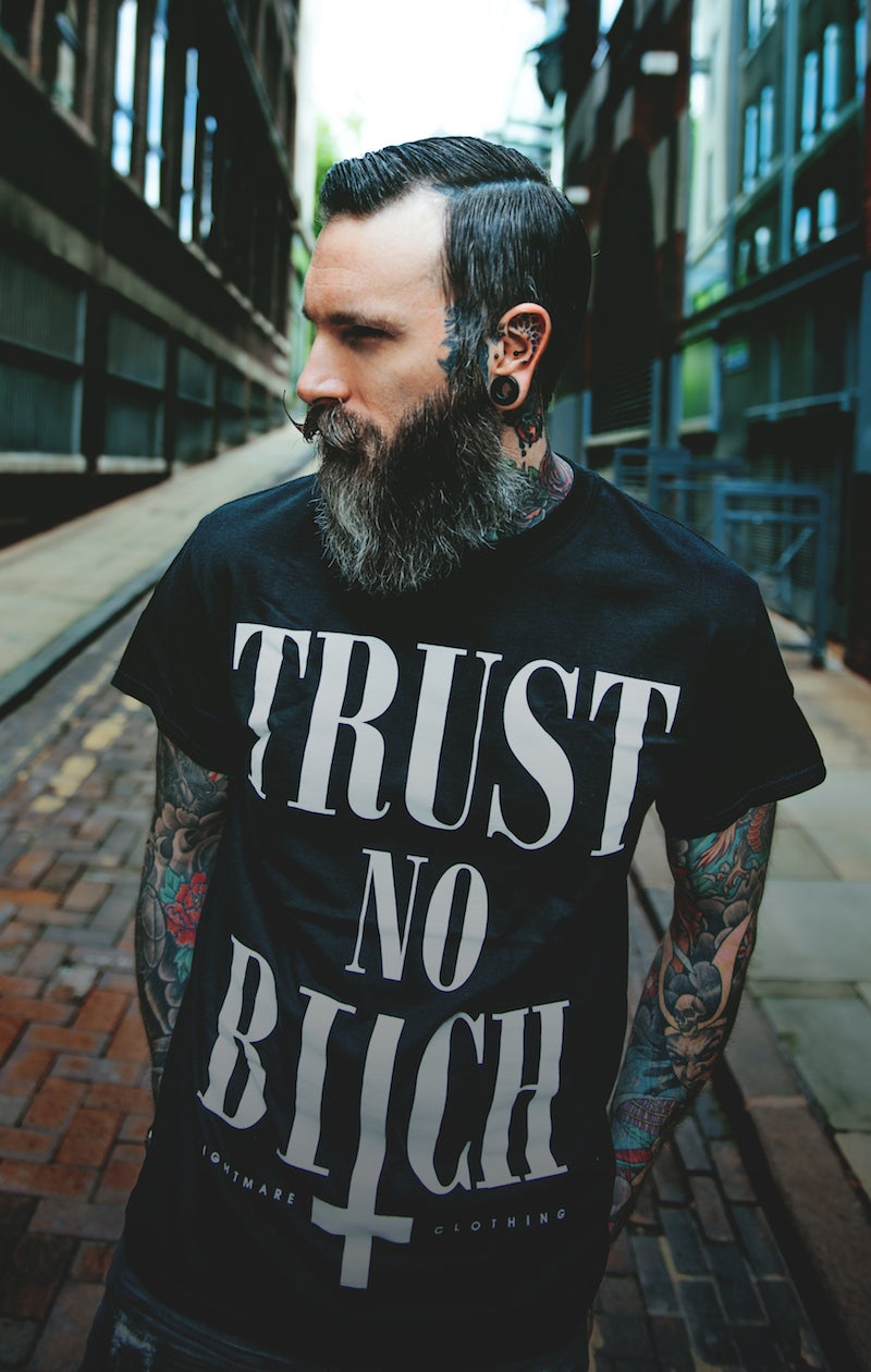 Image of TRUST NO BITCH - Tee ♀ ♂