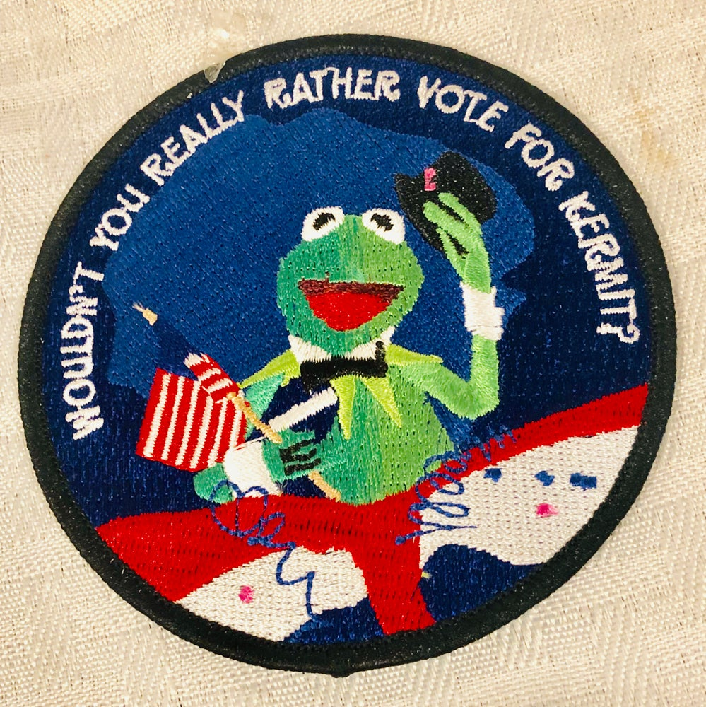 "Image of Vote 2020 Kermit 3.5"" patch"