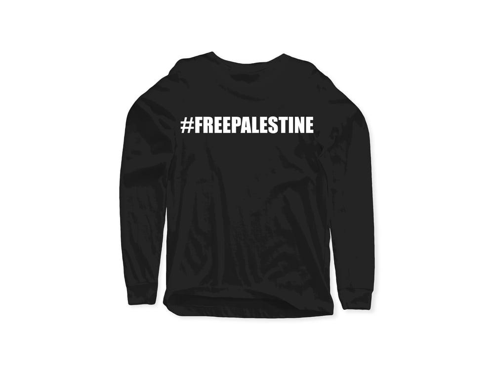 Free Palestine Dove Long Sleeve Tee