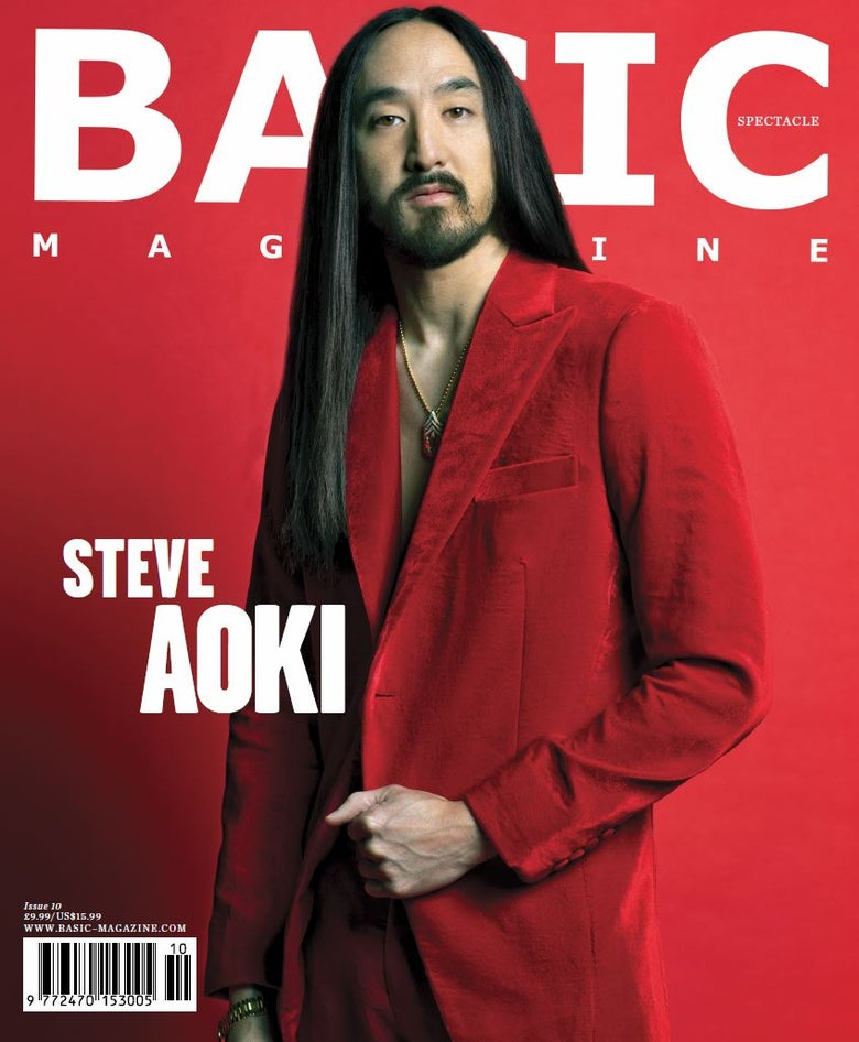 Image of BASIC   STEVE  AOKI  Cover || SPECTACLE Issue 10