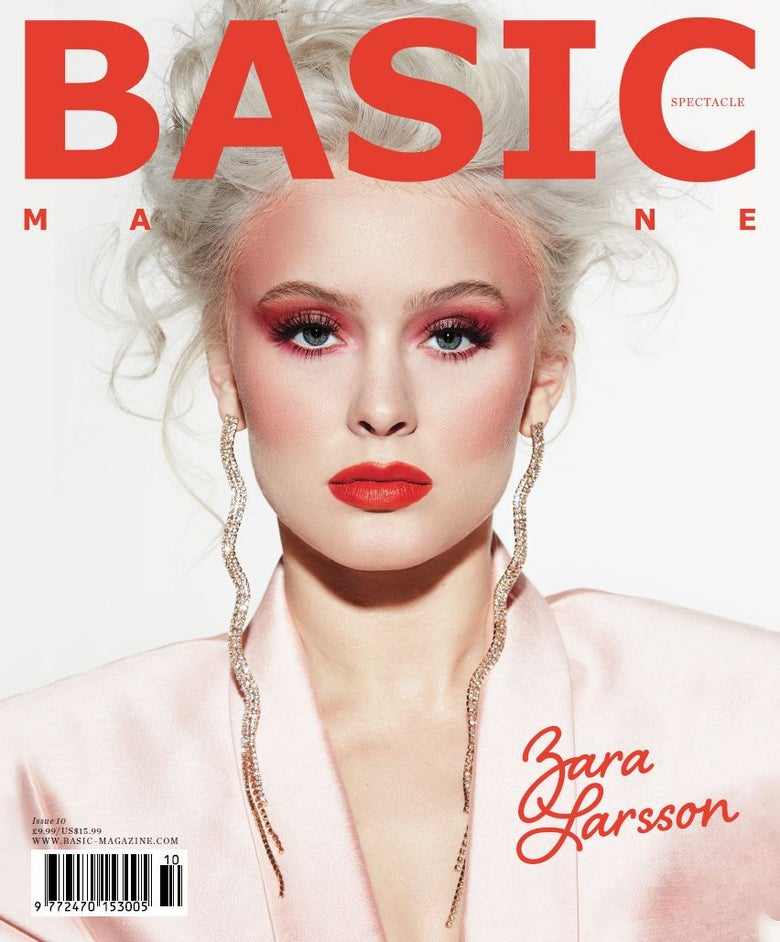 Image of BASIC   ZARA LARSSON  Cover || SPECTACLE Issue 10
