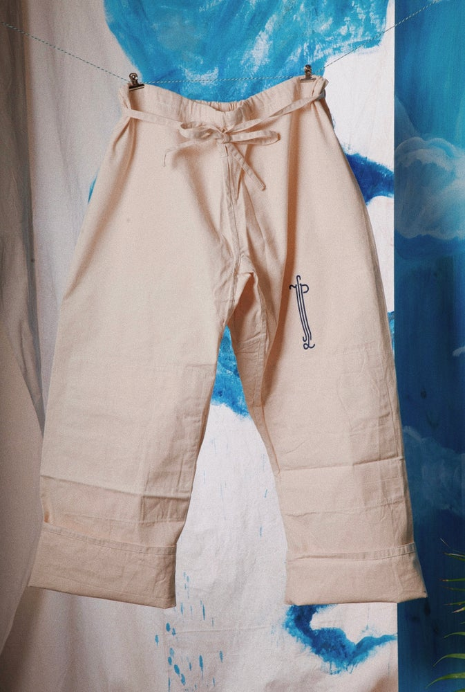 Image of Cotton Art Pants