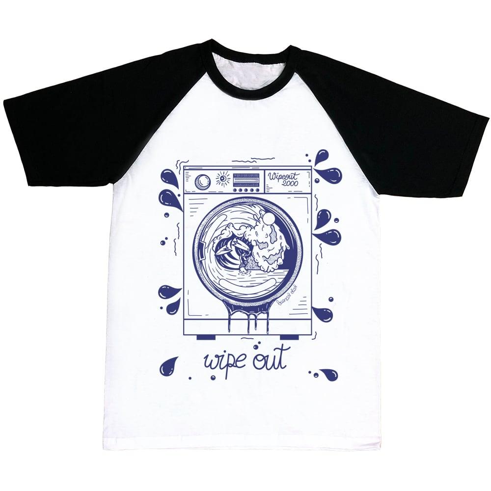 Image of Wipe Out Washing Machine T-shirt