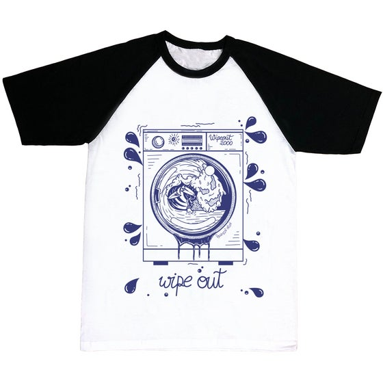 Image of Wipe Out Washing Machine T-shirt