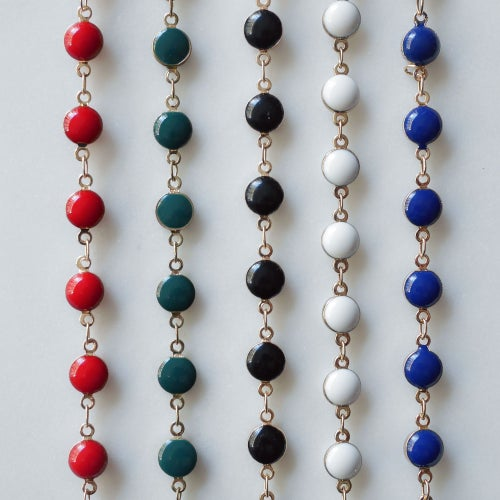 Image of Collier Choker Pastille 5 coloris