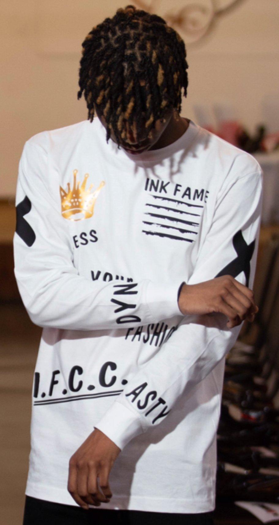"Image of Ink Fame Clothing Club ""Dynasty"" Long Sleeve Shirt"