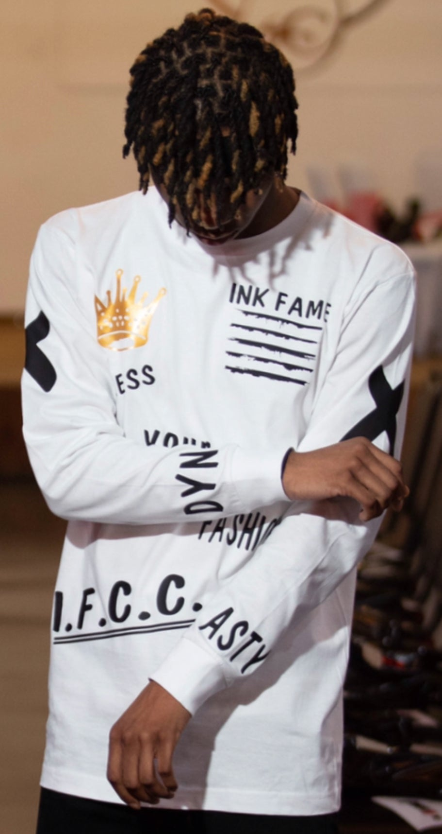 "Image of Ink Fame Clothing Club ""Dynasty"" Long Sleeve Shirt"