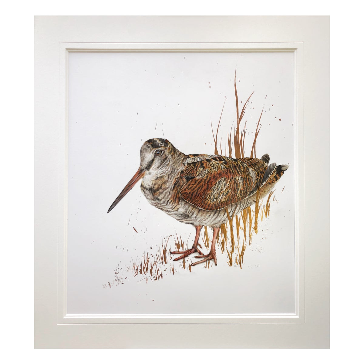 Image of 'Woodcock' Limited Edition Print- Hand Embellished