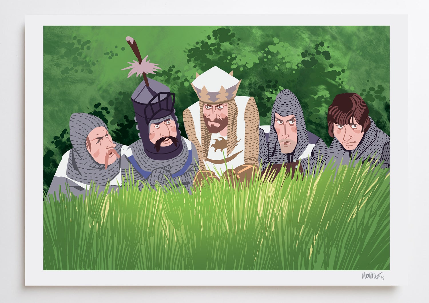 Image of The Holy Grail A3 PRINT