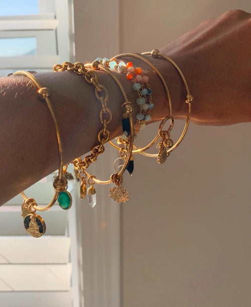 Image of DRIIPI • Crystal Wrap Bracelet w/charm | Group II