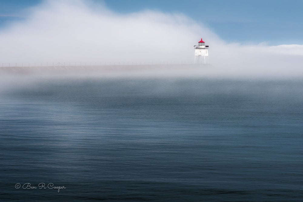 Image of Two Harbors East Breakwater Lighthouse