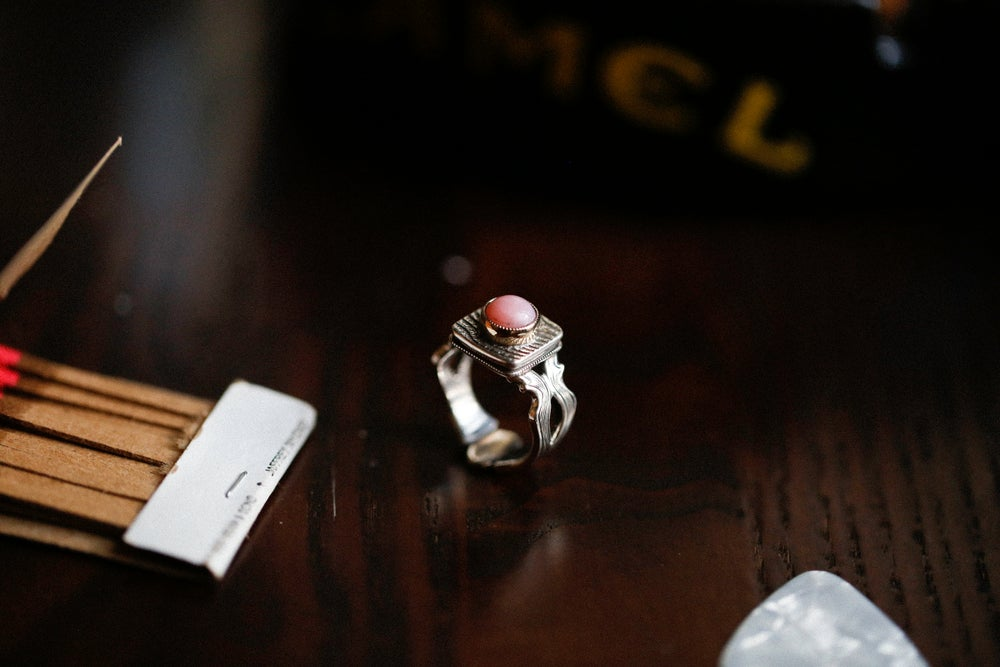 Image of Pink Opal Ring