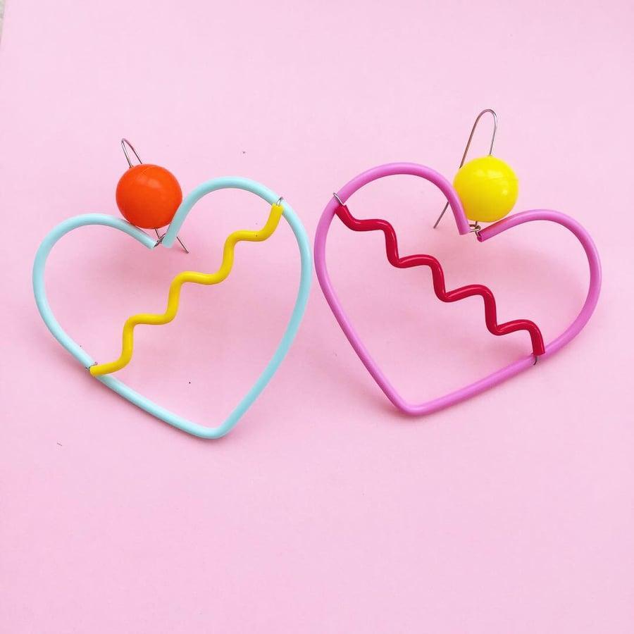 Image of New 🌈 RAINBOW HEARTS  〰️  💖 🌈 ❤️