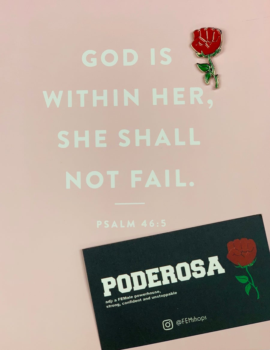 Image of Poderosa Pin