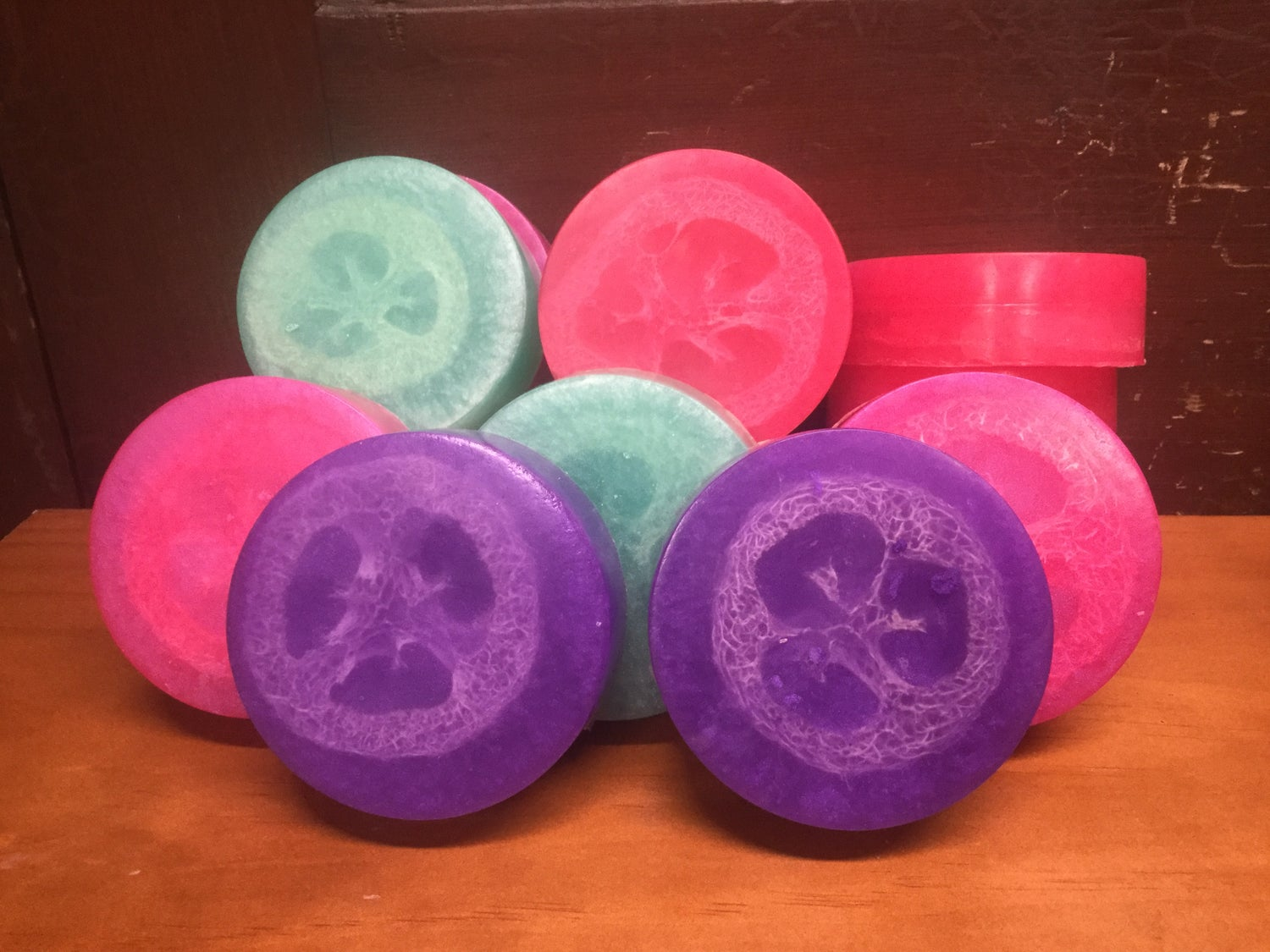 Image of Loofah Soaps