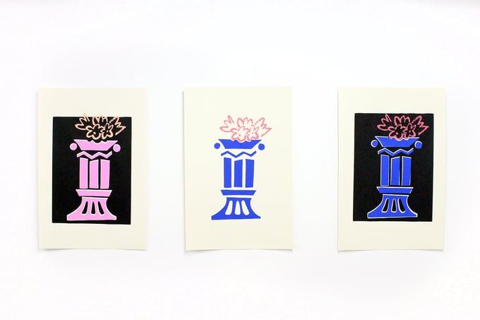 Image of Pompon Print