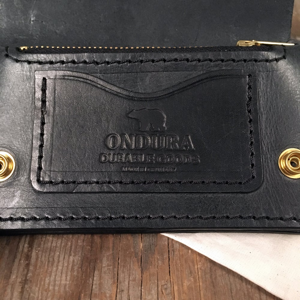 Image of ONDURA BIKER WALLET BLACK