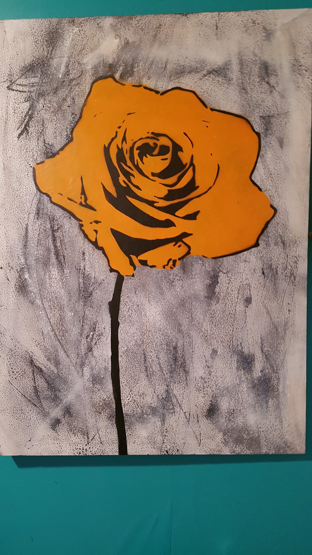 Image of Orange rose BIG