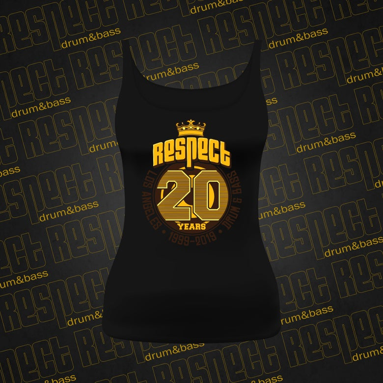 Image of *LIMITED* RESPECT Women's 20 Year Anniversary Tank