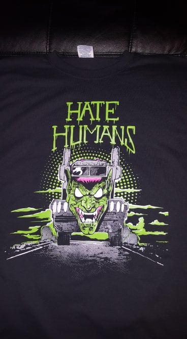 Image of HATE HUMANS #3 T SHIRT