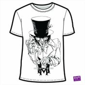 Image of Men's Mad Hatter T-Shirt (Gray or White)