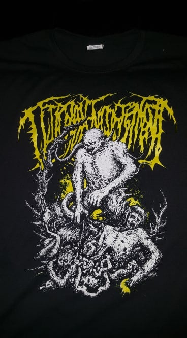 Image of GUTTURAL ENGORGEMENT T SHIRT (IN STOCK)