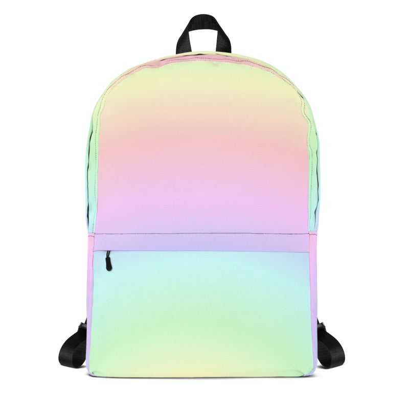 Image of Pastel Rainbow Backpack